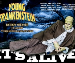 "PMT presents ""Mel Brooks Young Frankenstein"