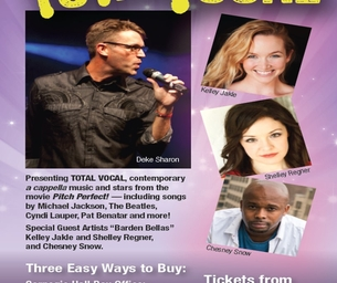 Giveaway: Carnegie Hall  DCINY presents Total Vocal #PitchPerfect