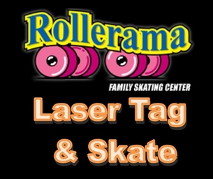 All You Can Play Laser Tag and Skate