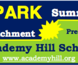 Academy Hill School SPARK Summer Programs