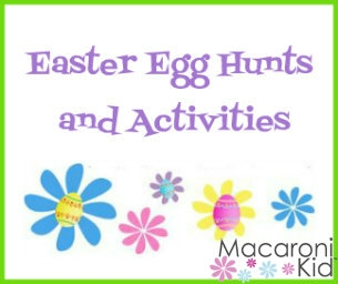 Easter Egg Hunts, Breakfasts & Activities