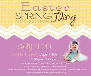 Easter Spring Fling Mini Sessions