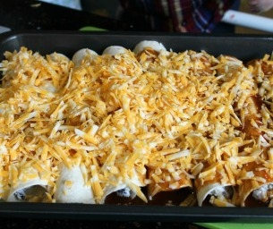 Dinner Is Ready! Easy Enchiladas