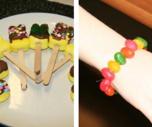 Easter Fun Times Two~Peep Pops & Jellybean Bracelets
