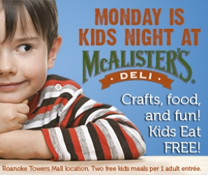 McAlister's Offers a Variety of Services for Families