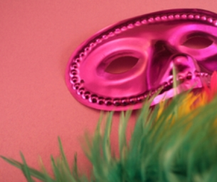 Fat Tuesday Mask Craft