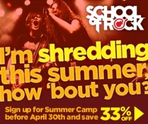 SCHOOL OF ROCK OVERLAND PARK - 2015 SUMMER CAMPS