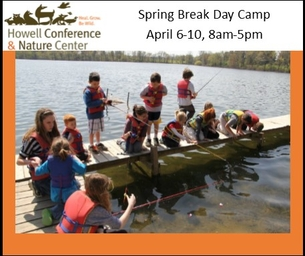 Spring Break Camp - At The Howell Nature Center