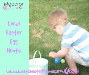 Egg Hunts in West Chester, Malvern, Downingtown, Coatesville & more!