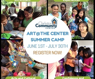 Clarkston Community Center:Art at the Center Summer Camp