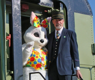 Event: Ride a Vintage Train to Visit the Easter Bunny