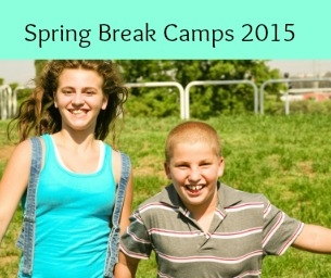 Have fun over spring break with these camps...