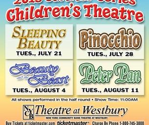 Exclusive Discount! Children's Summer Series at Westbury!