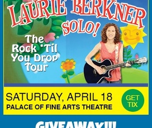 WINNER: LAURIE BERKNER SOLO SHOW!