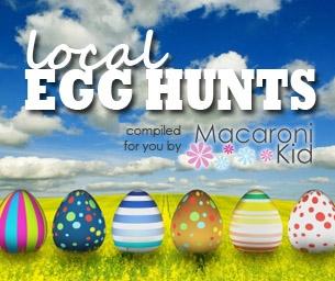 Local Area Egg Hunts & Spring Fun