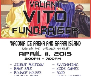 Valiant Vito Fundraiser
