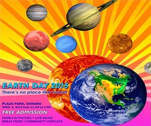 OXNARD EARTH DAY CELEBRATION IS SATURDAY