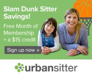 Slam Dunk Sitter Savings from UrbanSitter