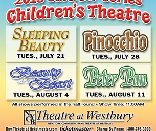 Coupon Code for Children's Theatre Summer Series: $10 Tickets
