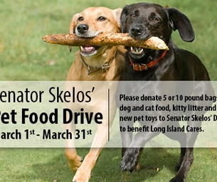 Pet Food Drive Challenge & K9 For Warriors