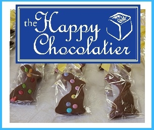 Visit the Happy Chocolatier, the Official Store of the Easter Bunny!