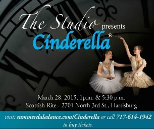 Limited Tickets to Live Performance of Cinderella Ballet This Weekend!