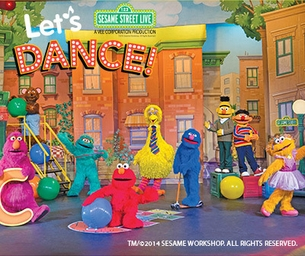 Sesame Street LIVE at the Frank Erwin Center April 10-12