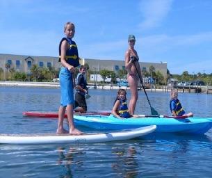 Jupiter Pointe Paddling's Summer Splash Camp