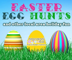 Local Area Easter Egg Hunts & Holiday Fun