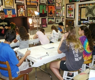 Giveaway: One (1) Month of Art Classes at The Learning Tree of Arts