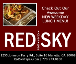 Red Sky Tapas - Now Open for Lunch. Kids Eat Free Sunday Too!