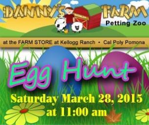 Egg Hunt at Danny's Farm!