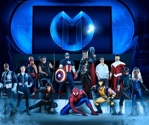 IT'S HERE!!!  MARVEL UNIVERSE LIVE!