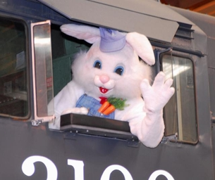 MACARONI WINNER!! All Aboard for Bunny Train - March 28-29