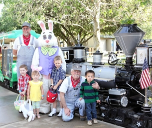 Irvine Park Railroad Easter Eggstravaganza 2015!