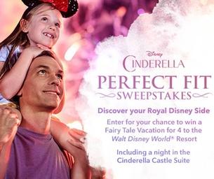 CINDERELLA - Walt Disney World Sweepstakes!!!