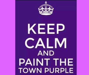 'Paint The Town Purple' with the Greater Middletown Relay for Life