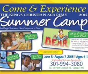 Tons of Summer Fun at The King's Christian Academy
