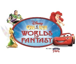 DISNEY ON ICE PRESENTS WORLDS OF FANTASY - MOM DISCOUNT!