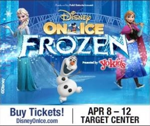 WIN Tickets to Disney On Ice: Frozen at the Target Center