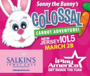Register Now!  Colossal Carrot Adventure at iPlay America, March 28
