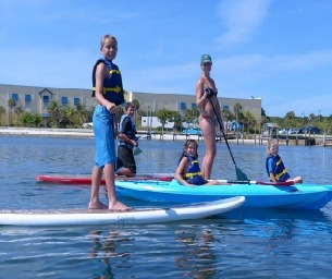 Jupiter Pointe Paddling's Summer Splash Camp