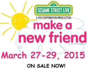 "Sesame Street Live ""Make a New Friend"""