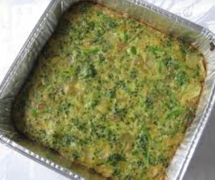 Easy Broccoli Kugel for Passover