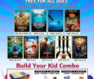 FREE Spring Movies are Here!