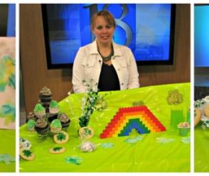 Fun Celebrating St. Patrick's at TV 18!
