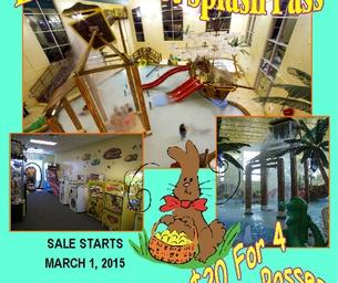 Buccaneer Bay's Easter Basket Splash Pass