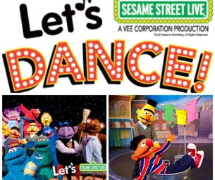 """Win 4 Tickets to See Sesame Street Live """"Let's Dance!"""""""