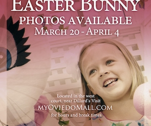 Hop over to the Oviedo Mall for some Family and Easter FUN!