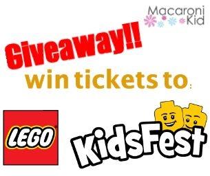 Win tickets to LEGO® KidsFest!
